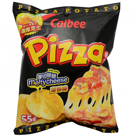 Potato Chip Pizza Melty Cheese Flavour