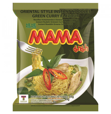 Instant Noodle Green Curry Flavour