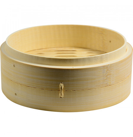 Bamboo Steamer With Higher Base 20cm