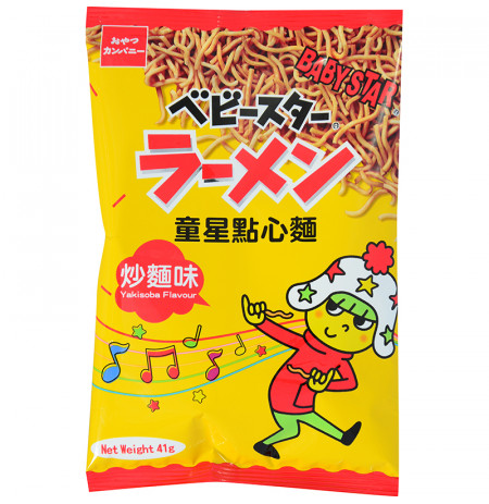 Snack Noodle Yakisoba Flavour