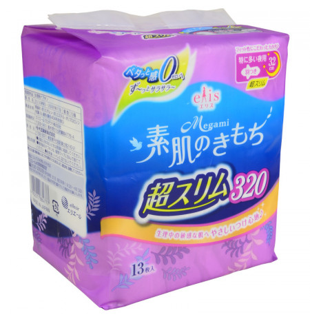 Megami Extra Thin Sanitary Pad Night 320