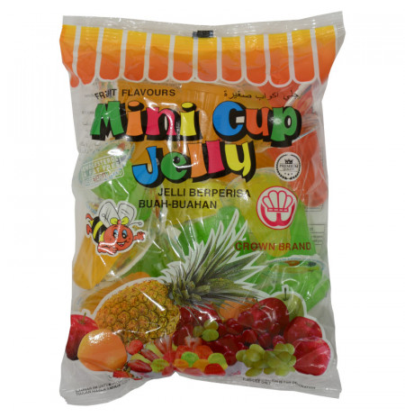 Mini Cup Jelly Fruit Flavours