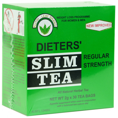 Dieter' Slim Tea Regular Strength