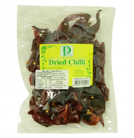 Dried Chilli Without Stem