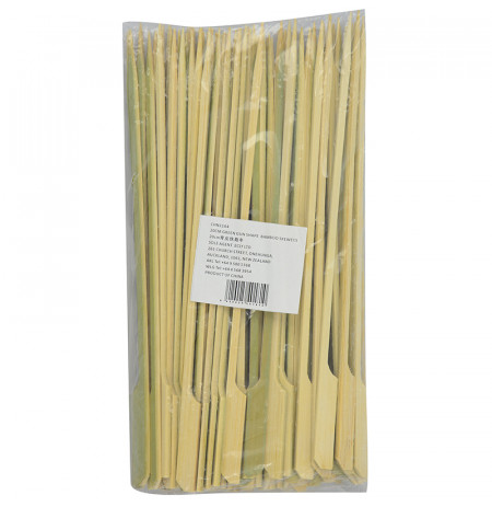20cm Green Gun Shape Bamboo Skewers
